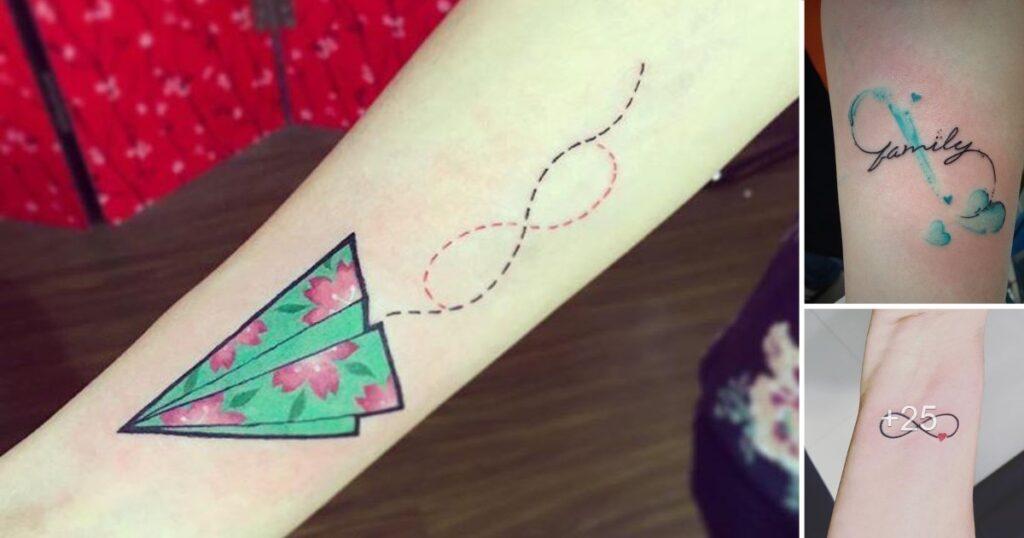 Significado del símbolo infinito y 35 Ideas de tatuajes creativos